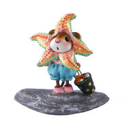 Wee Forest Folk Sweet Starfish Treater, Wff M-492, Halloween Or Beach Mouse