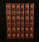 1935-41 6vol The Novels By The Bronte Sisters Bayntun-riviere Binding
