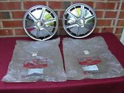 71 72 73 74 Toyota Corolla Nos Hubcaps Wheel Covers Pt 42621-12060