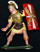 Louis Marx 60mm Warriors World Roman Soldier Missing Sword Hand Painted