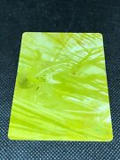 2010 Topps Star Wars Galaxy 5 Unseen Mcquarrie Yellow Printing Plate 1/1 Card 95