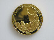 1975 Franklin Mint History Of Mankind Ministry Of Jesus Silver Art Medal P0106