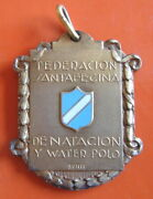 Argentina - Swimming And Water Polo Federation Of Santa Fe 1938, 900 Silver Medal