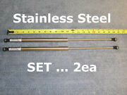 Set 20andrdquo 90 Marine Boat Ship Hd Stainless Steel Gas Strut Spring Lift Prop 20in