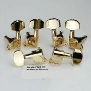 Wilkinson 3l3r Guitar Tuners Tuning Pegs Machine Heads For Les Paul Wj-01 Gold