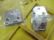 2 Pk Of Taco Stainless Steel Strap Hinge 3 7/8 X 1 1/2 Marine H21-0234 Boat