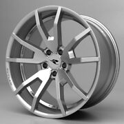 2005-2014 Mustang Cdc Outlaw Wheel Set Staggered Silver 20 S197 Flow Formed