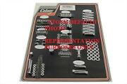 Complete Parkerized Motor Engine Stock Hardware Kit For Harley Early Panhead