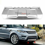Board For Land Rover Range Rover Sport 14-17 Front Bumper Skid Plate Trim Silver