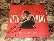 Beth Hart Signed Autographed Vinyl Record Better Than Home Coa + Free Shipping