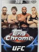 2019 Topps Chrome Ufc Base Inserts And Autographs Pick From List