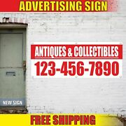 Antiques And Collectibles Custom Number Advertising Banner Vinyl Mesh Decal Sign