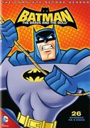 Batman The Brave And The Bold Complete Second Season 2 New Sealed 4 Dvd Set