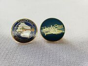 Theda Star Air Medical Helicopter Lapel Pins Wisconsin Airbus