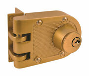 Prime-line Defender Security Brass Dead Lock 2-3/8 In. For All Home Doors