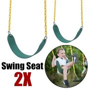 2pcs Outdoor Swing Seat Set Accessories Replacement Hanging Swings Slides Gyms