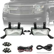 Fog Lights Lamps W/switch+bulbs For 2015 2016 2017 2018 Chevy Suburban/tahoe