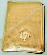Gold Memo And Stamp Book1963 Rare Girl Scout Week Free Give-a-way Collector Gift