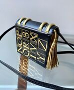 Paloma Picasso. Vintage Purse. Black And Gold Faux Book.1980s. Italy. Collectible.