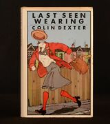 1976 Last Seen Wearing Colin Dexter Crime Inspector Morse First Edition