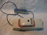 Vintage Tin And Plastic Car Battery Operated Gama Germany