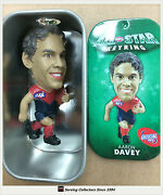 2010 Select Afl Stars Key Rings Aaron Davey Melbourne X 5