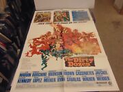 The Dirty Dozen 1967 Lee Marvin Charles Bronson Orig 1-sheet Poster N7128