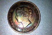 Canada Key Date Large Cent 1858 - Xf,   Q113