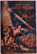 1935 War Is Near Watchtower Jehovah's Witness Religious Tract Book Cover Art