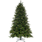 Fraser Hill Farm Ffbb075-0gr 7.5-ft Bayberry Green Christmas Tree With Mixed Bra