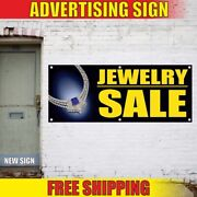 Jewelry Sale Advertising Banner Vinyl Mesh Decal Sign Discount Accessory Antique
