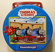 Ravensburger Thomas The Tank Engine And Friends Snowy Day No. 08 683 2 In Tin New