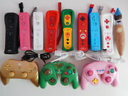 Nintendo Wii And U Motion Plus Wiimote Remotes Pro Controllers Wheels Choose