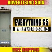 Jewelry And Accessories Advertising Banner Vinyl Sign Flag Everything 5 Gold