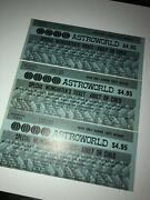 50+ Yrs Old Very Rare Collectible Houston Six Flags Astroworld 1971 Season 1