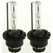 Set Of 2 Pieces Headlight Bulbs Hi Or Low Beam D2s Hid Xenon Type