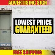 Lowest Price Guaranteed Advertising Banner Vinyl Sign Flag Best In Town Specials