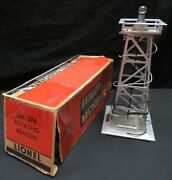 Vintage Lionel Train 394 Rotating Beacon W/ Original Box, Not Tested