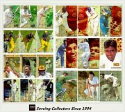 1998/99 Select Cricket Hobby Trading Card Master Collection Exclude All Autos