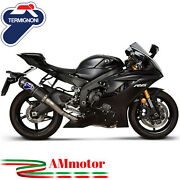 Full Exhaust System Termignoni Yamaha Yzf 600 R6 06 - 2019 Motorcycle Carbon