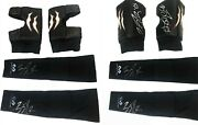 Wwe Finn Balor Ring Worn Hand Signed Kneepads And Arm Sleeves With Proof And Coa