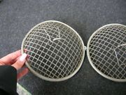 Rally Gravel Guards For Lamps Lights To Assembly Head Porsche 356 911 Mb Ghe Nos