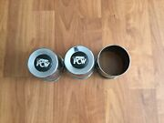 3pcs Used Pcw Center Caps Fits For Toyota Tacoma