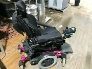 Invacare Matrx Pcs Motorized Wheelchair W/ Ws230-1a Battery Charger Can Ship
