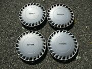 Genuine 1989 Toyota Celica Gt 13 Inch Hubcaps Wheel Covers Set