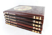 Vintage Collectible 5 Time-life History Hardcover Books The Old West Series