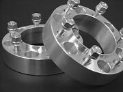 2 For 2000-2006 Tundra Hub Centric Wheel Adapter Spacers 2.00 Inch 6550ehc