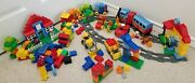 Lego Duplo Lot 5507 6760 6169 10558 10518 10507 Deluxe Train Fire Number First