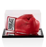 Kell Brook Signed Boxing Glove Red Everlast - In Acrylic Display Case