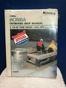 Clymer Honda Outboard Shop Manual 2 - 130 Hp 4-strk 76and039-99and039  B757